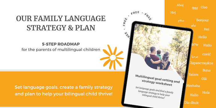 our family language strategy and plan