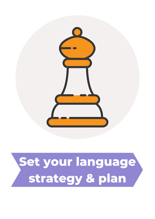 Set a family strategy and plan for your multilingual child
