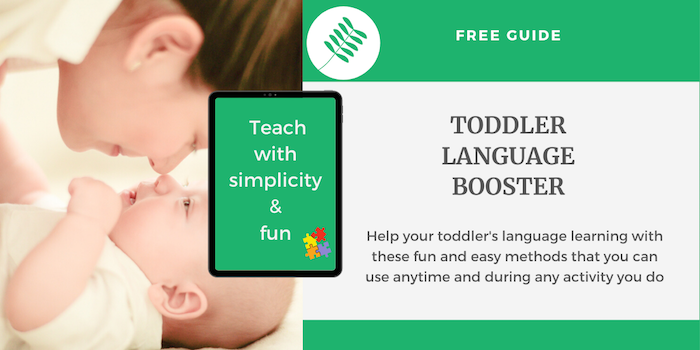 Support your toddler's language development. Improve your child's language skills anytime, anywhere.