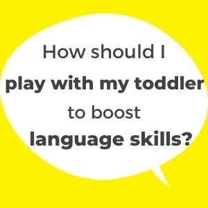 Language development through play. How to play with a child to improve language