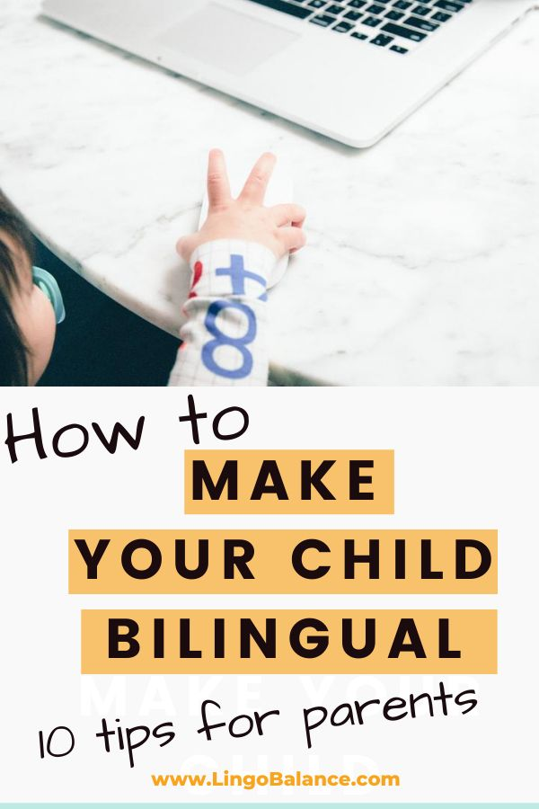 How to make your child bilingual. First of all, you should consistently speak your (minority) language. How? 10 simple tips for motivation and consistency in the minority language are in this post!
