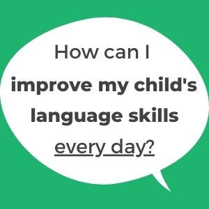 support and improve your toddler's language skills every day with this free guide by LingoBalance. Tips from a speech therapist.